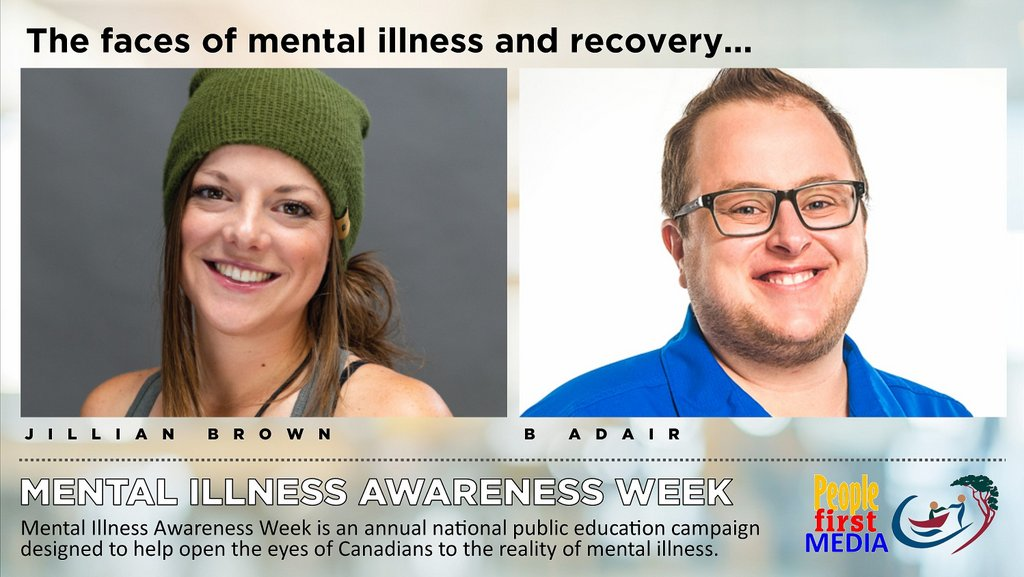 Stories of mental illness and recovery: Jillian Brown and B Adair