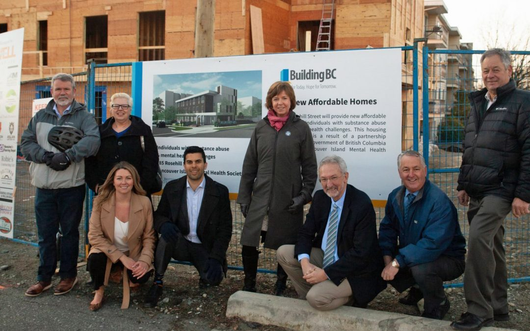 VIMHS will open a new 23-unit affordable housing building in Nanaimo this October
