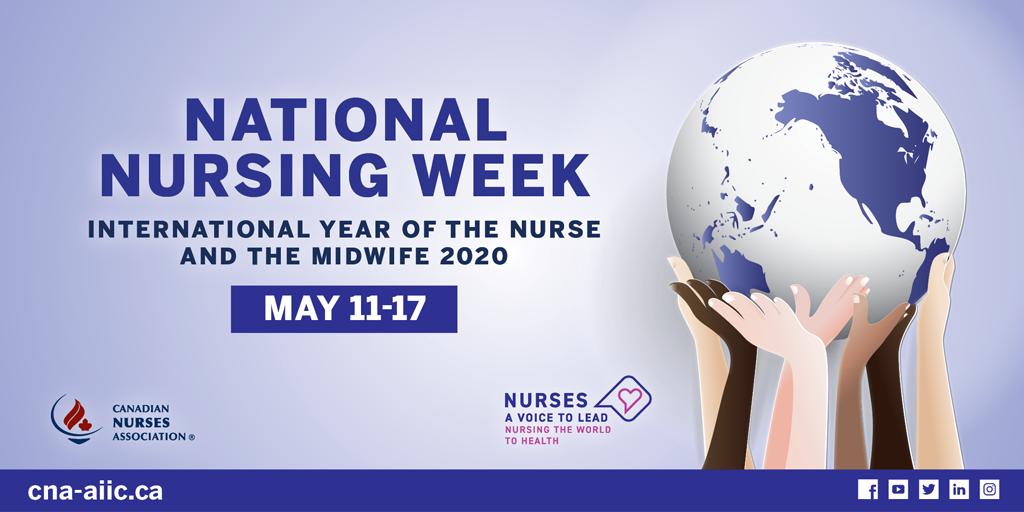 It's National Nursing Week from May 11 to 17