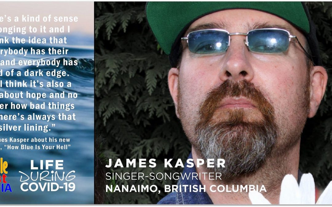 Singer-songwriter James Kasper and his new single, released during COVID-19