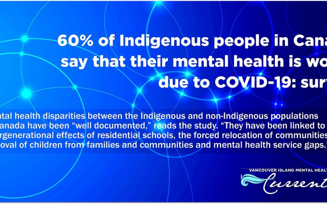60% of Indigenous people say mental health is worse due to COVID-19: survey
