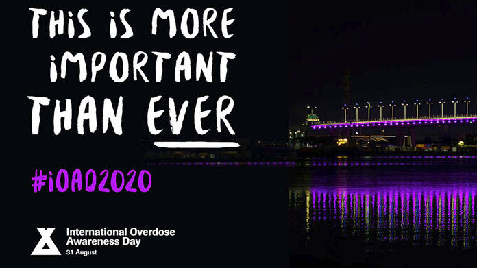 International Overdose Awareness Day is August 31
