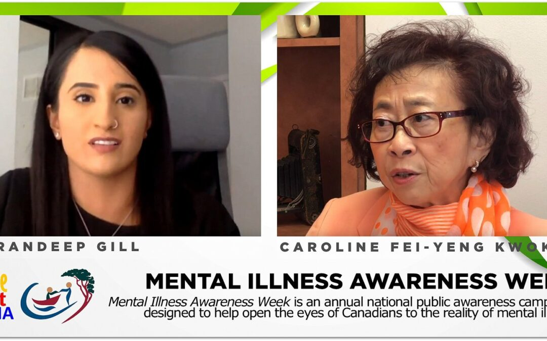 Mental illness and recovery: Karandeep Gill & Caroline Fei-Yeng Kwok