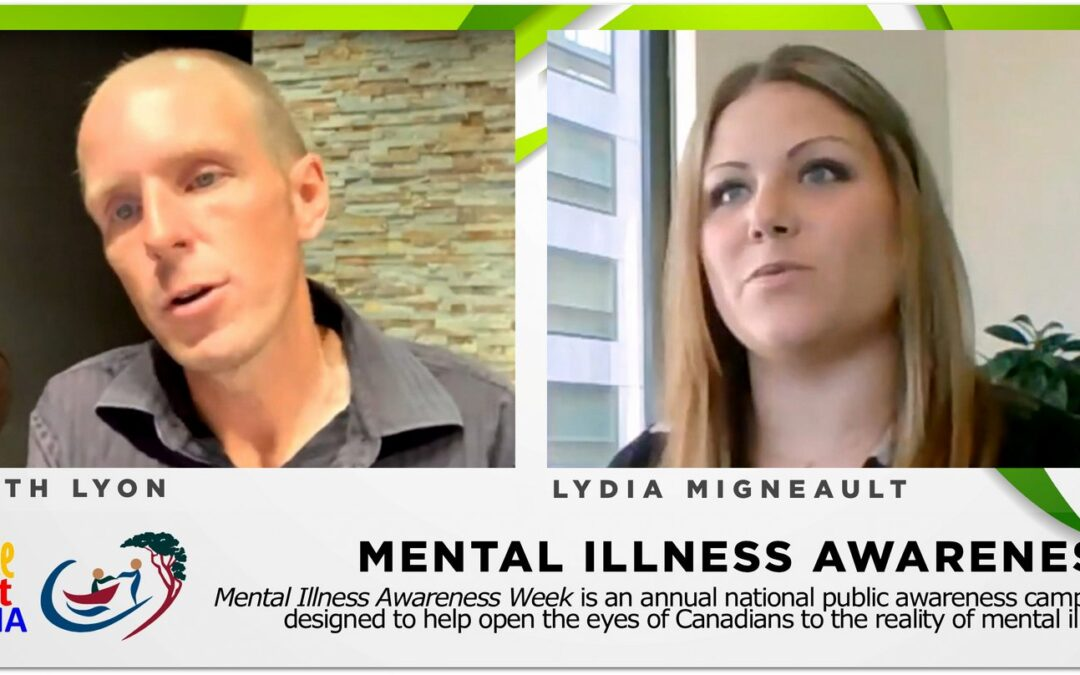 Mental illness and recovery: Keith Lyon & Lydia Migneault