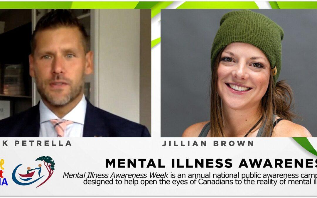 Mental illness and recovery: Nick Petrella & Jillian Brown