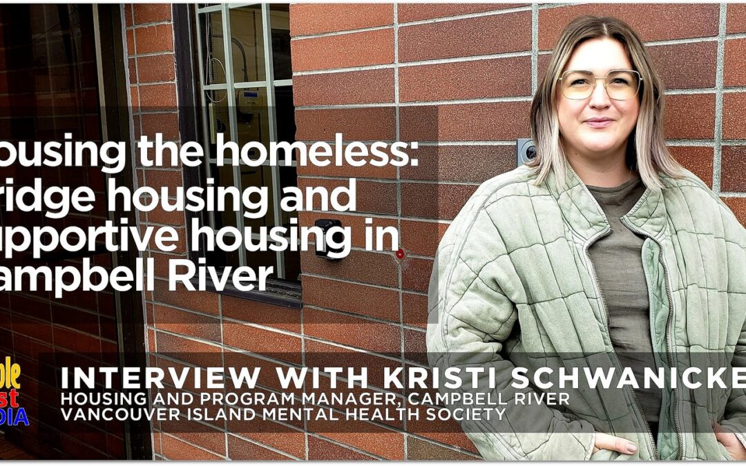 Bridge housing and supportive housing in Campbell River