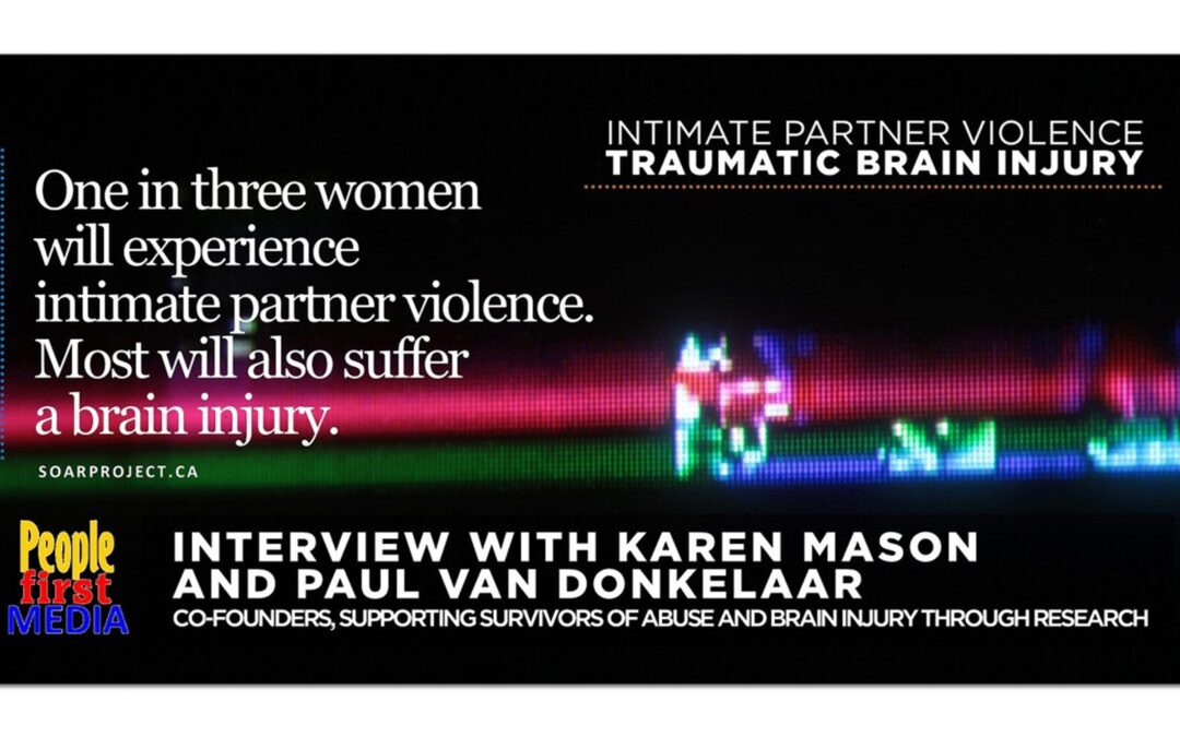 One in three women will experience intimate partner violence. Most will also suffer a brain injury