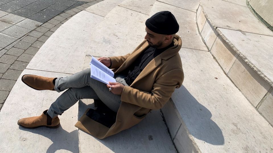 Poet puts pen to paper for journey into mental wellness