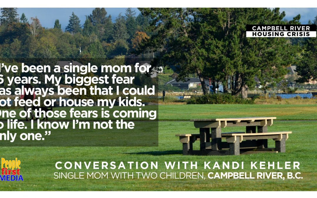 Single mom struggles to find housing in Campbell River